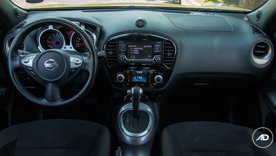Nissan Juke 1.6 Upper CVT 2018 dashboard
