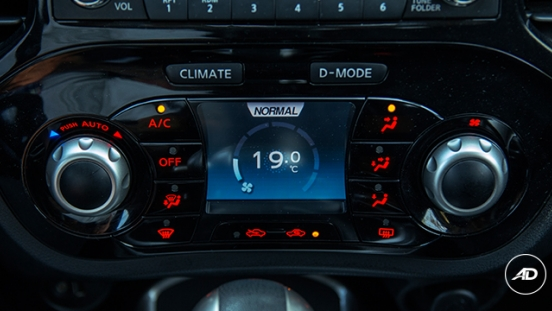 Nissan Juke 1.6 Upper CVT 2018 entertainment unit