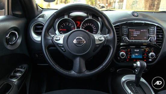 Nissan Juke 1.6 Upper CVT 2018 steering wheel