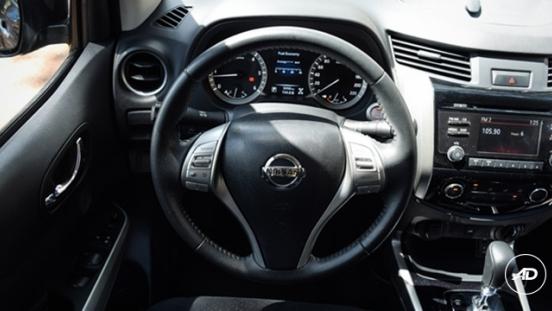 Nissan Navara 4X4 VL Sport Edition AT 2018 steering wheel
