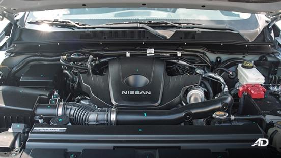 Nissan Navara PRO-4X engine bay