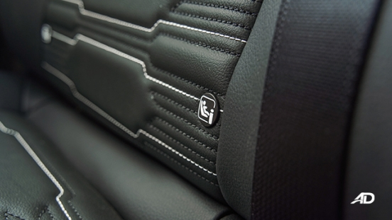 Nissan Navara PRO-4X ISOFIX tethers
