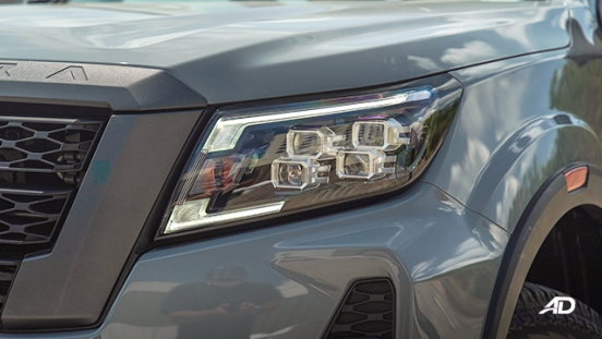 Nissan Navara PRO-4X LED headlights