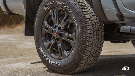 Nissan Navara PRO-4X wheels