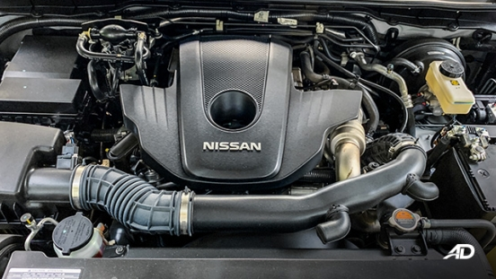 Nissan Navara road test engine