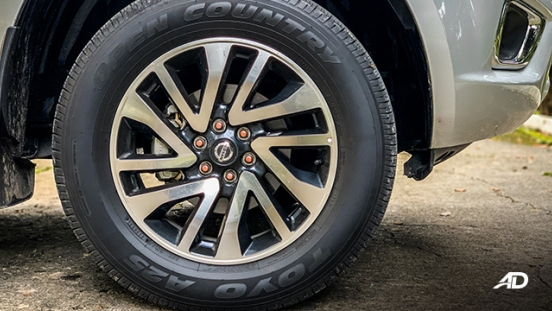 Nissan Navara road test exterior wheels