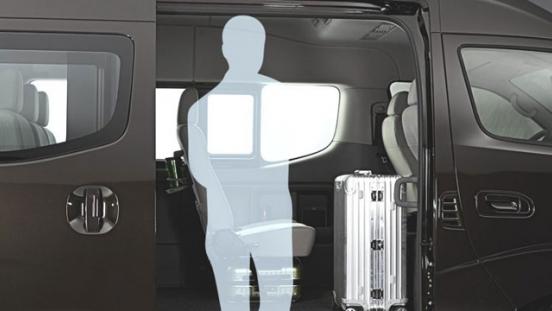 Nissan NV350 Urvan Premium 2018 cabin