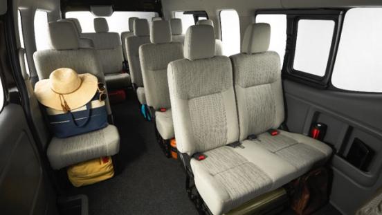 Nissan NV350 Urvan Premium 2018 interior
