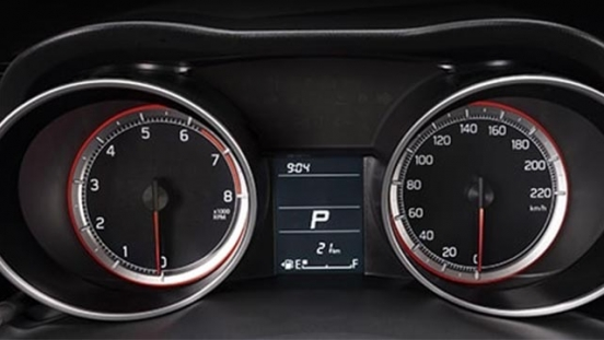 Suzuki Swift gauge cluster