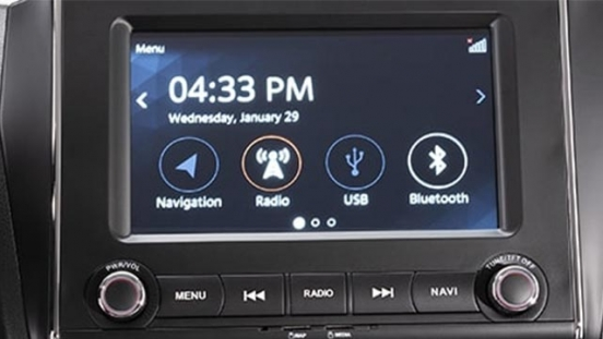 Suzuki Swift infotainment