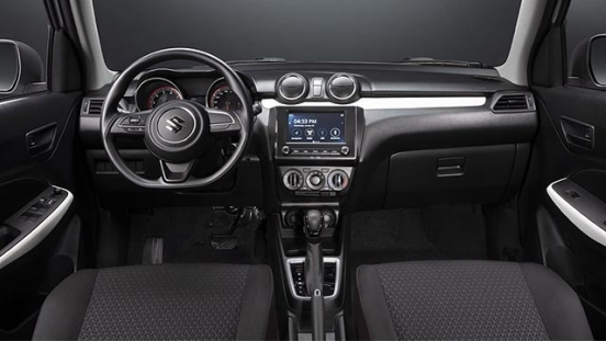 Suzuki Swift interior dash