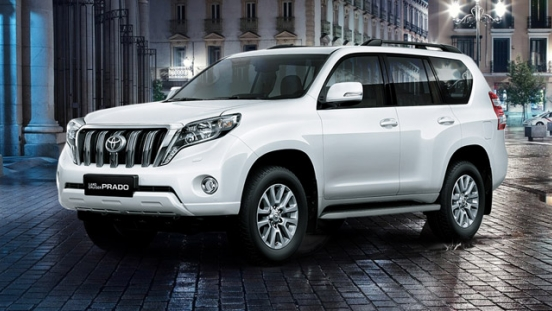 Toyota Land Cruiser Prado 2018 4.0 Gas AT White Pearl Brand New Philippines