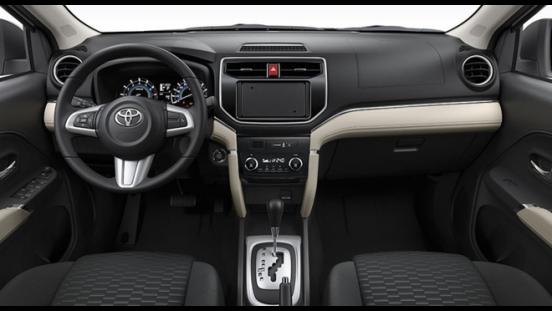 Toyota Rush 2018 1.5 E dashboard