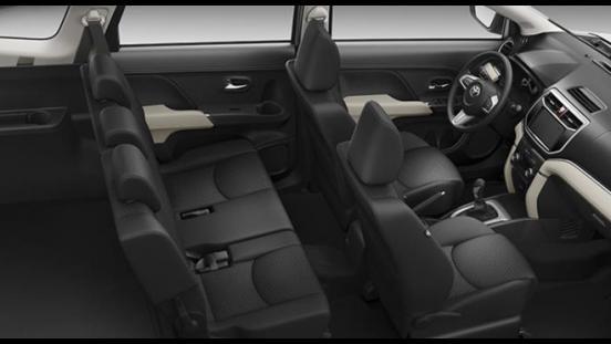 Toyota Rush 2018 1.5 E MT interior