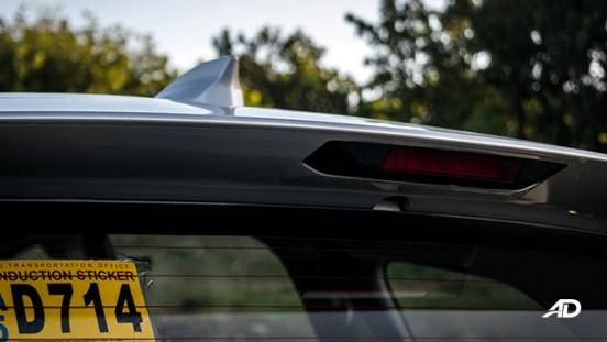 toyota rush road test exterior