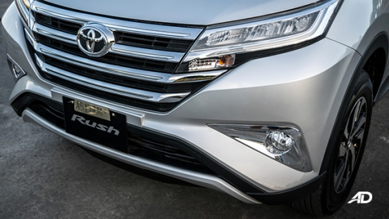 toyota rush road test exterior grille