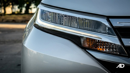 toyota rush road test exterior headlight