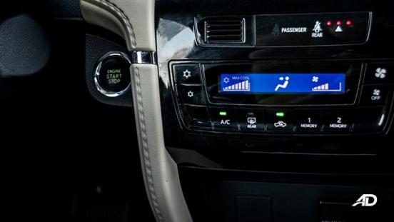 toyota rush road test interior