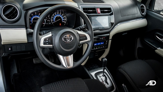 toyota rush road test interior cabin