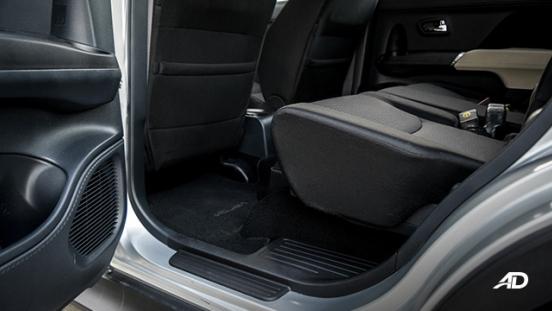 toyota rush road test interior second row