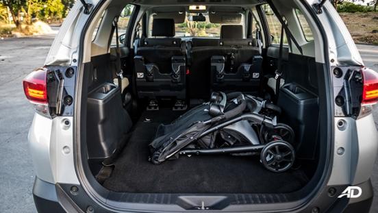 toyota rush road test interior trunk