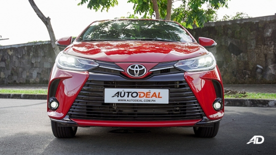 Toyota Vios G CVT road test front philippines