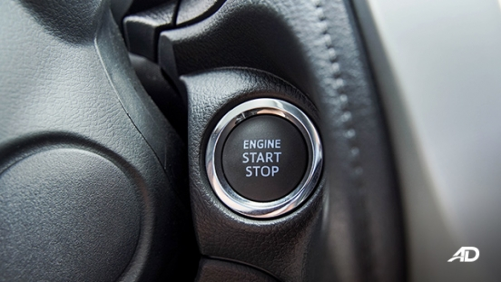 Toyota Vios G CVT road test push to start button