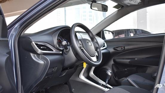 Toyota Vios XLE 1.3 CVT driver's side