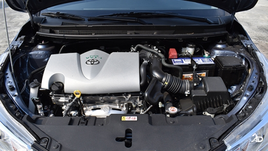 Toyota Vios XLE 1.3 CVT engine bay