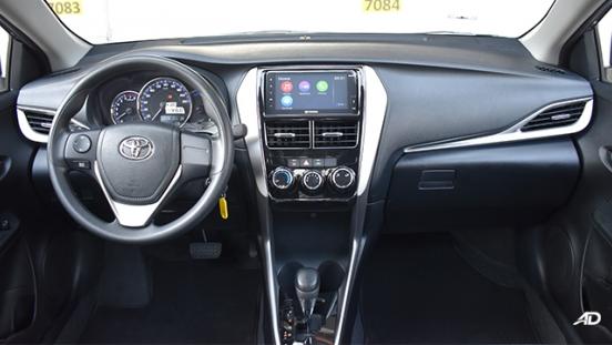 Toyota Vios XLE dashboard