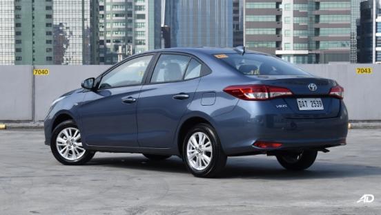 Toyota Vios XLE rear quarter