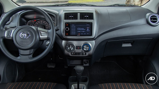 Toyota Wigo 2018 1.0 G AT Philippines Interior