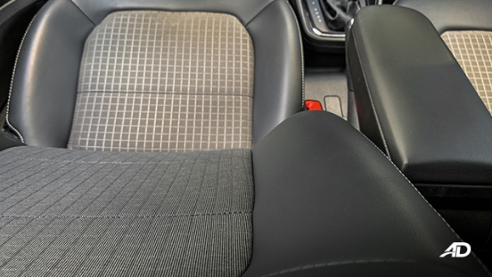volkswagen santana road test interior seats