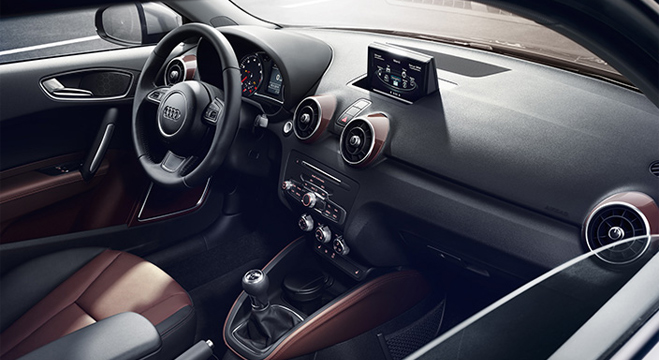 2018 Audi A1 1.4L 3 Door Philippines Interior