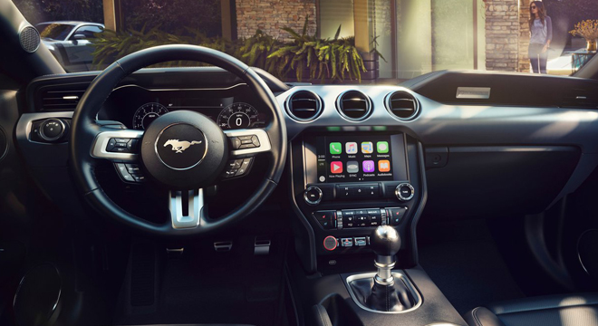 2018 Ford Mustang 2.3L EcoBoost Interior