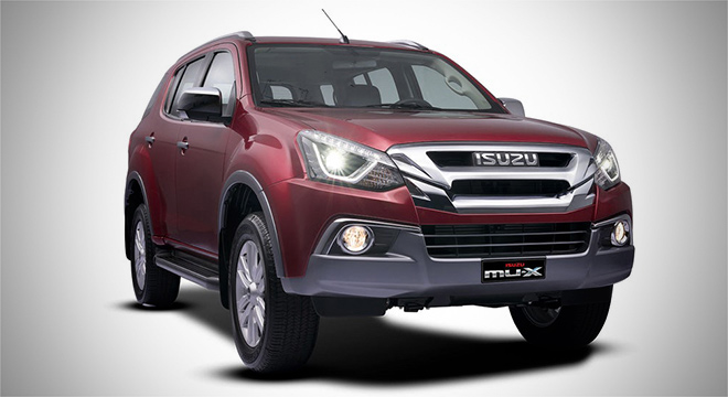 2018 isuzu mu-x 1.9 luxe blue power front