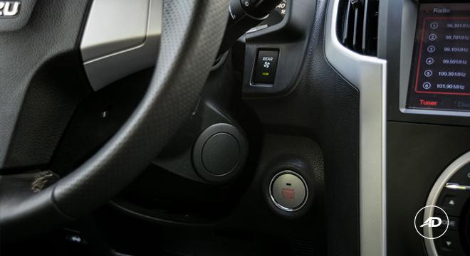 2018 Isuzu mu-X 1.9 RZ4E push start button