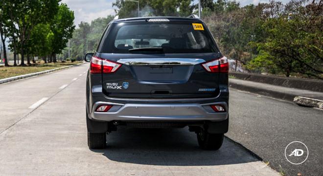2018 Isuzu mu-X 1.9 RZ4E rear