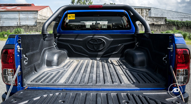 2018 Toyota Hilux Conquest bed