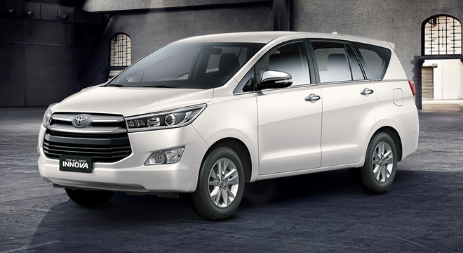 2018 Toyota Innova G 2.0 AT White Pearl Philippines