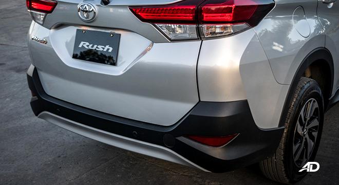 2018 toyota rush road test exterior