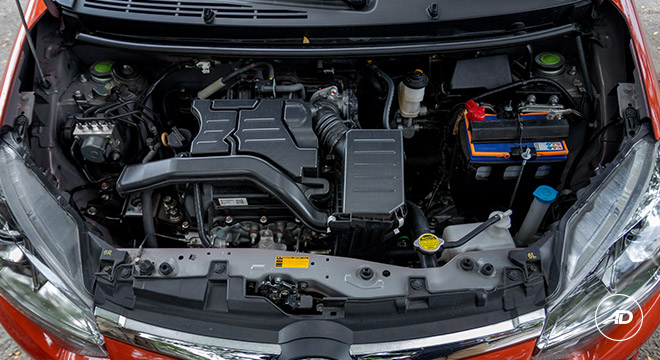 2018 Toyota Wigo 1.0 G AT Philippines engine