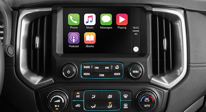 2019 Chevrolet Colorado High Storm apple carplay