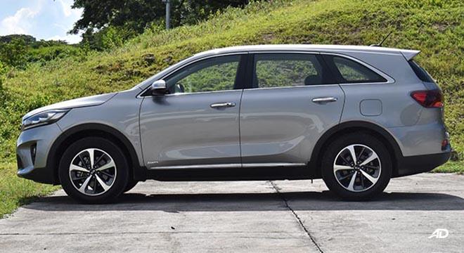 2019 Kia Sorento EX AWD AT side profile