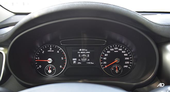2019 Kia Sorento gauge cluster