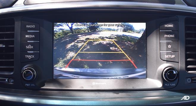 2019 Kia Sorento reverse camera