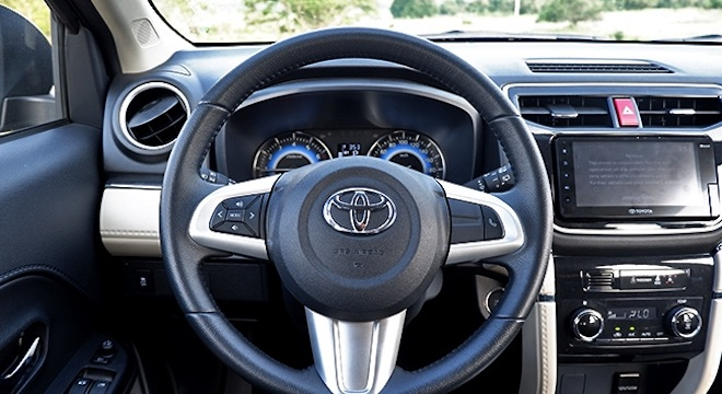 2019 Toyota Rush 1.5L G AT - drivers view