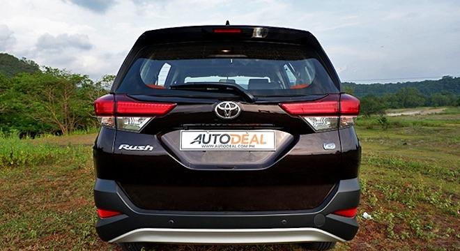 2019 Toyota Rush 1.5L G AT - rear