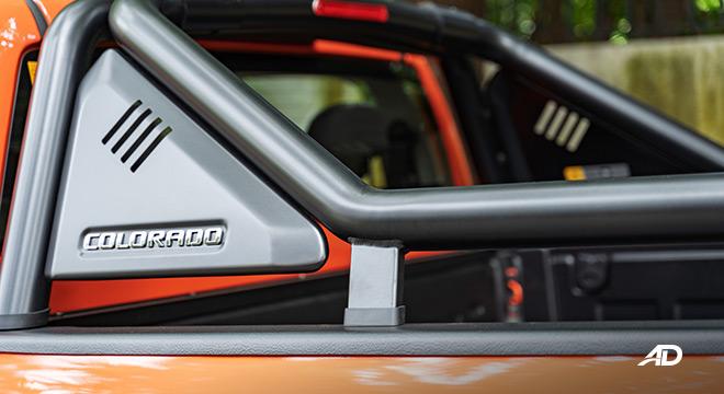 2020 Chevrolet Colorado exterior rollbar