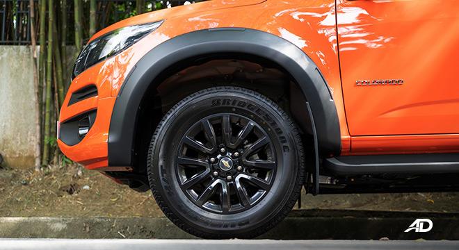 2020 Chevrolet Colorado exterior wheels